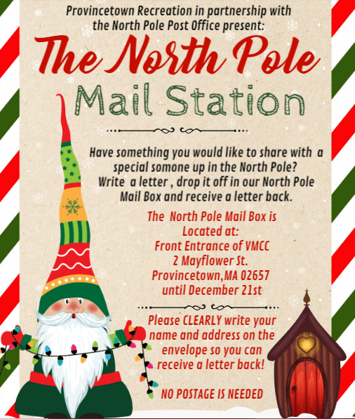 North Pole Mail Station Flier Image