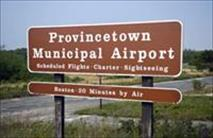 Provincetown Municipal Airport Sign