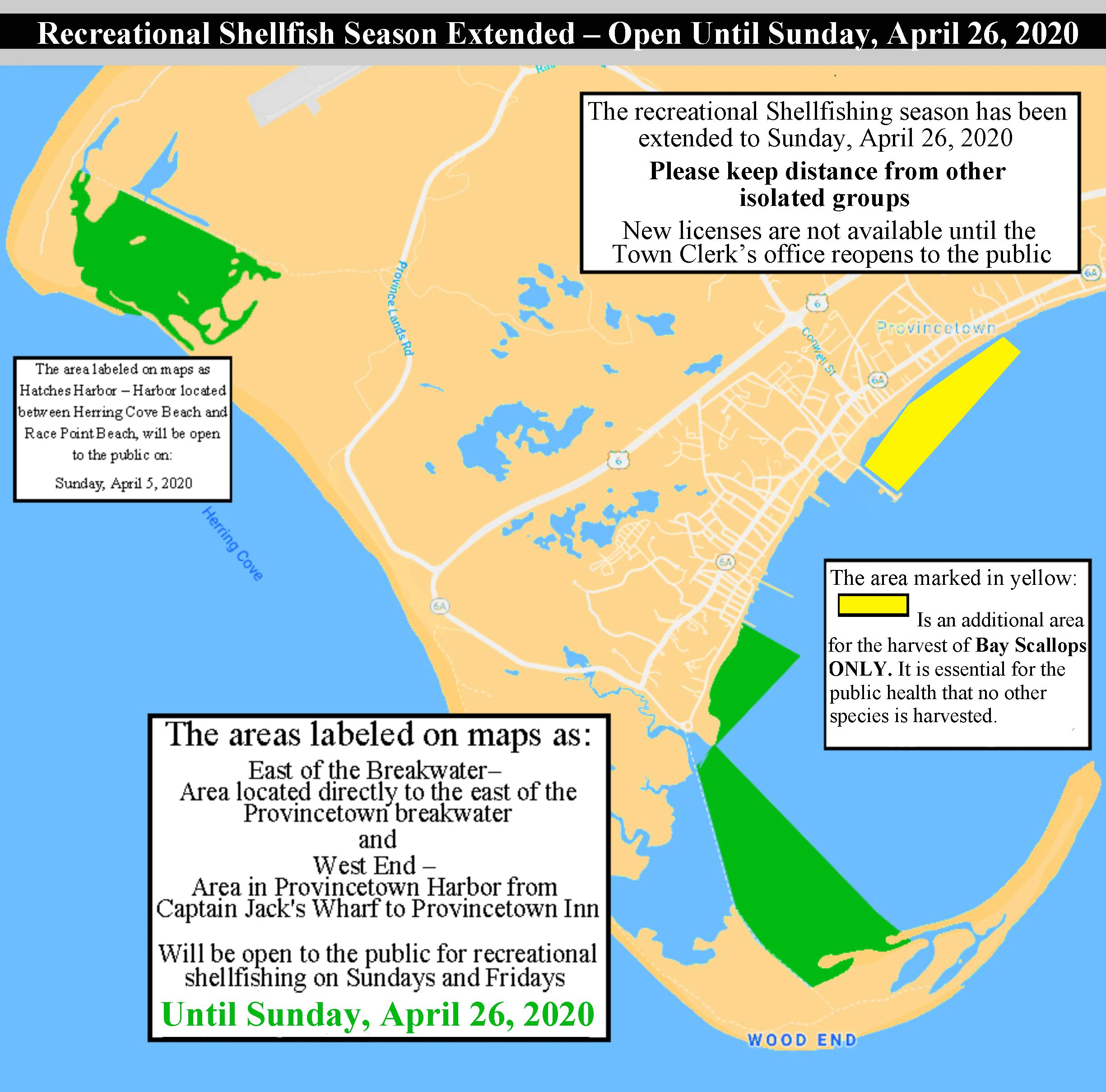 2020 recreational shellfishing extension map copy